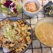 炒り豆腐丼