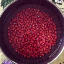 ●●●によく効く小豆…