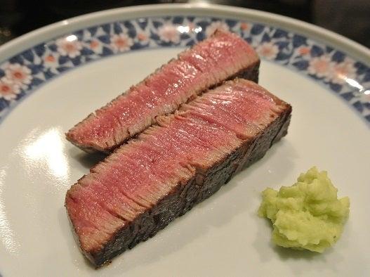 銀座五明 秋田牛シャトーブリアン