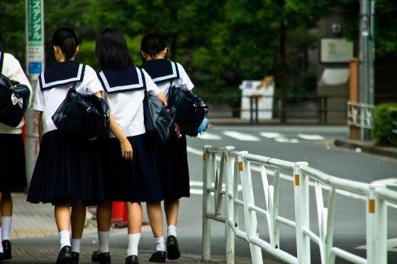 日本の学生たち
