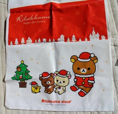 リラックマストア クリスマスショップ袋