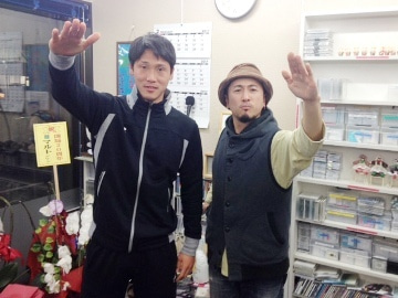いわきFC 4番 古山瑛翔(DF)&ナシモン