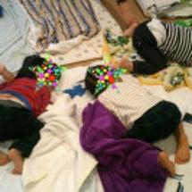 子供の寝相 おしりつ…