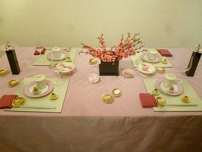 ひなまつりのテーブルコーディネート