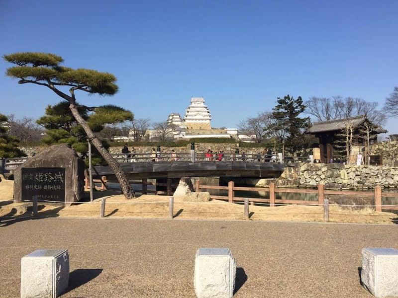 ここがまさに姫路城