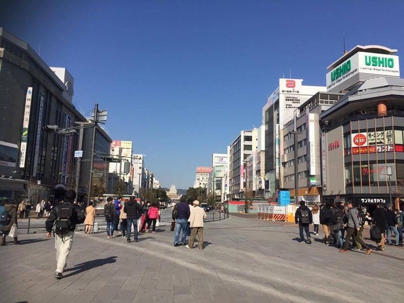 姫路駅前からのプロムナード