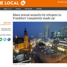 ドイツの「難民の集団…