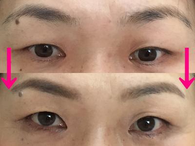 眉メイク 吹田