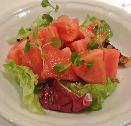 南蛮銀圓亭 トマトサラダ