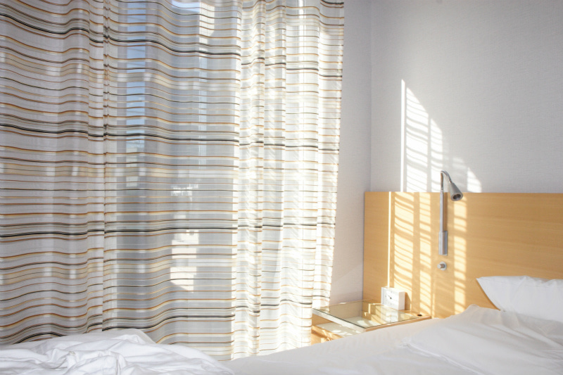 朝陽の入る部屋