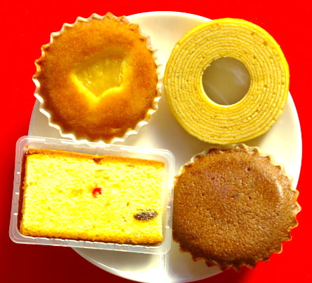 焼菓子4種類