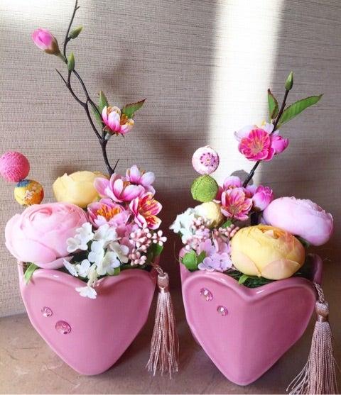 春花のフラワーアレンジメントレ...