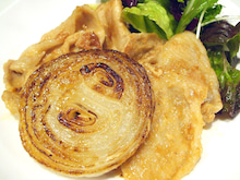 豚肉オイスター生姜焼き
