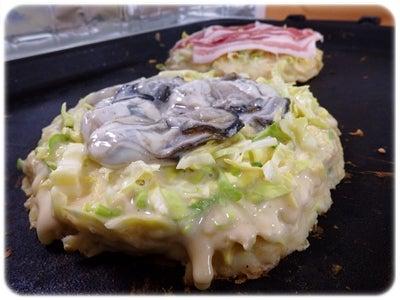かきおこと豚玉1