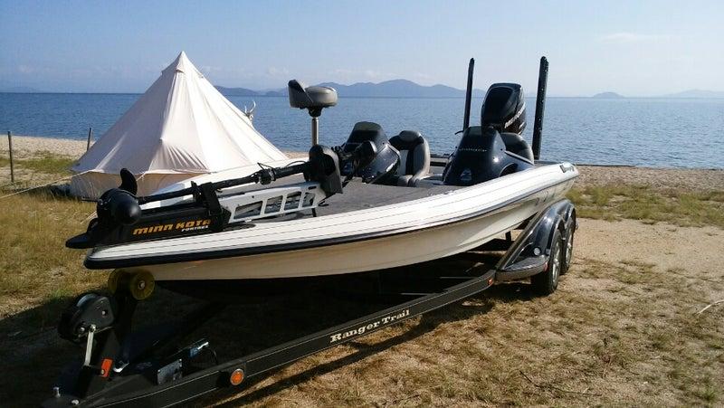 中古レンジャーバスボートと引っ張る車ブログZ