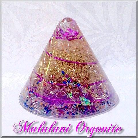 円錐型 オルゴナイト エジプト ラーの目 波動調整
