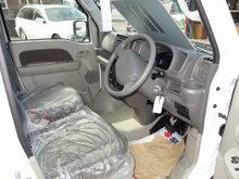 軽キャンパー ドリームミニ ベース車 運転席