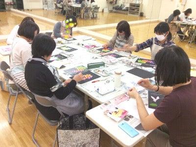 セブンカルチャークラブ武蔵境チョークアート講座1