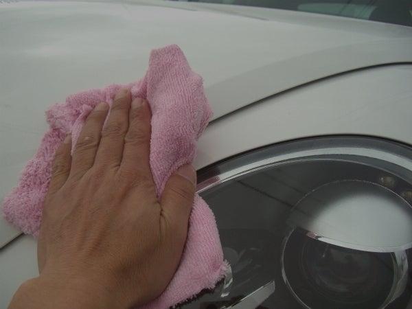 車のボディ用ガラスコーティングを自分で施工する
