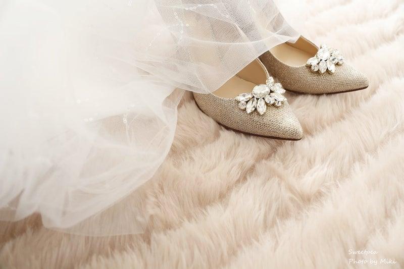 ウェディングフォト ウェディングシューズ ウェディングドレス 花嫁