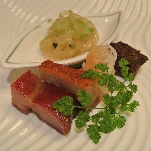 中国飯店 市ヶ谷店 五種前菜の盛り合わせ