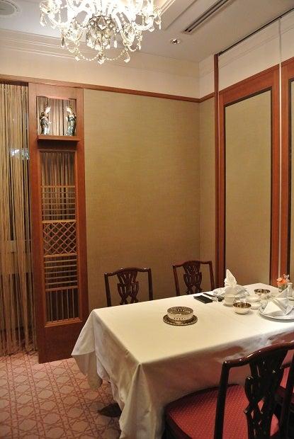 中国飯店 市ヶ谷店 小さい個室