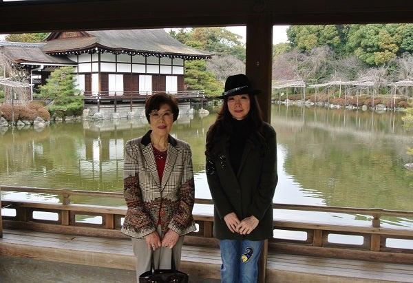 平安神宮 通天橋 伊藤由美ママ&母紀子