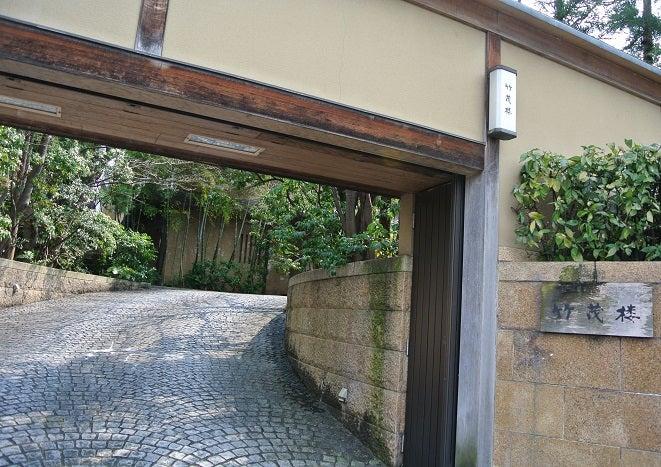 京都 竹茂楼 玄関