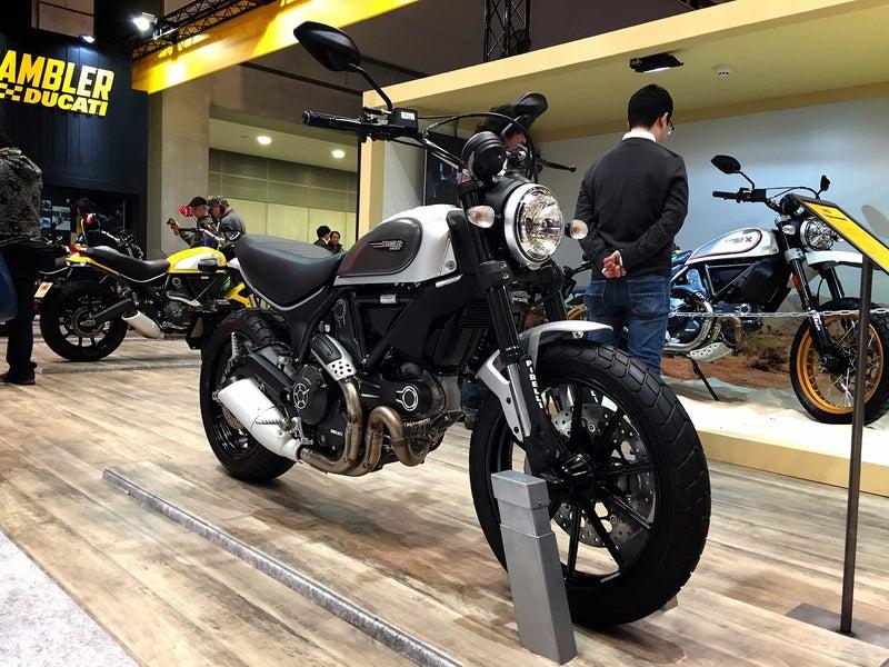 東京モーターサイクルショーDUCATIブース