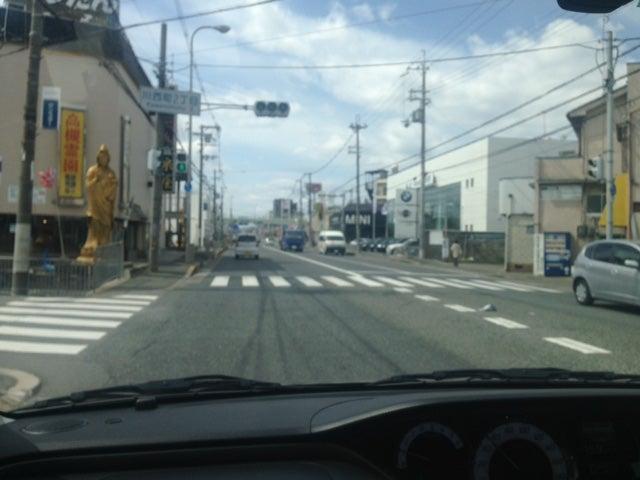 高槻市川西町にて 北大阪ペーパードライバー