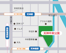 アウトドアデイジャパン福岡2017MAP