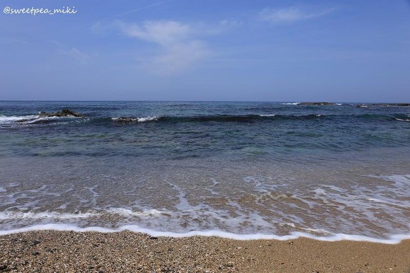 青空 海 砂浜 日本海 丹後半島 琴引浜 鳴き砂
