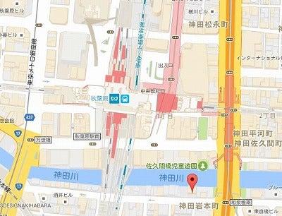 秋葉原仕入れツアー地図