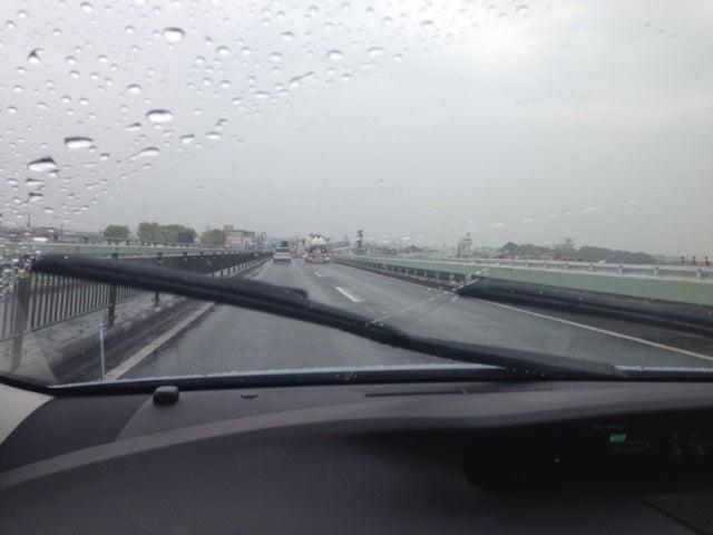 雨の中ペーパードライバー運転練習 北大阪ペーパードライバー