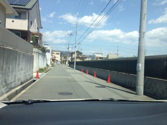 箕面市小野原西にて ペーパードライバー出張教習