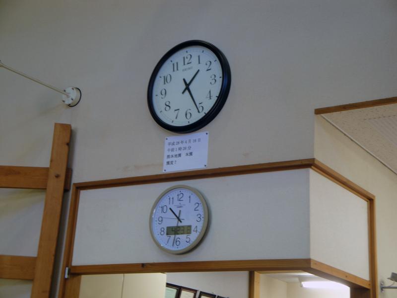 萌えの里の二つの時計