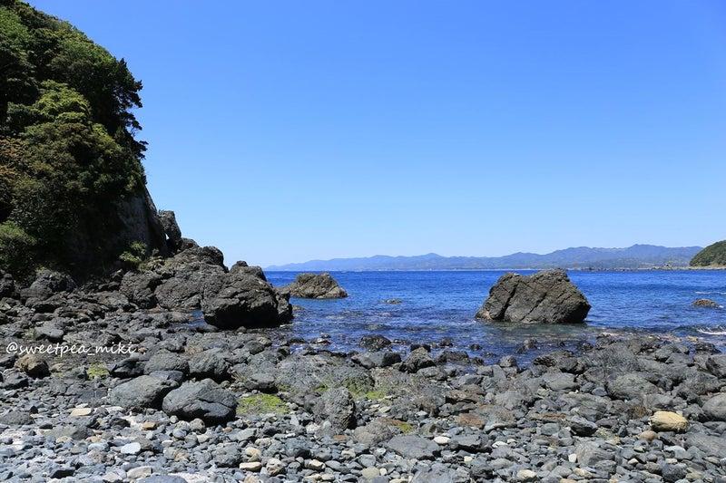 関西 ビーチ 海 砂浜 青空 空 和歌山 串本町