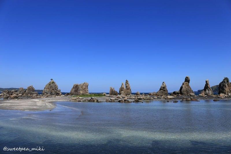 和歌山 串本 景勝 名勝 橋杭岩 天然記念物 海