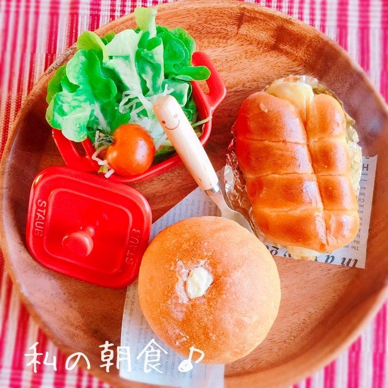 私の朝食♪
