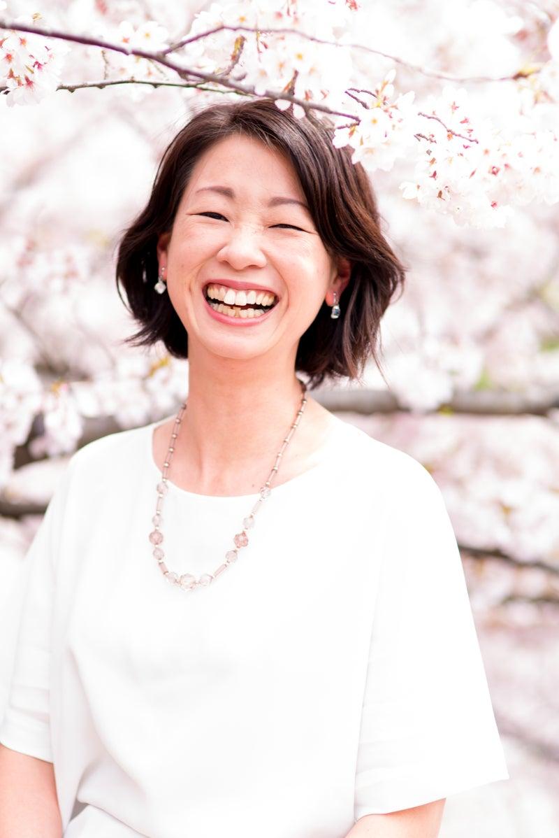桜と笑顔未緒