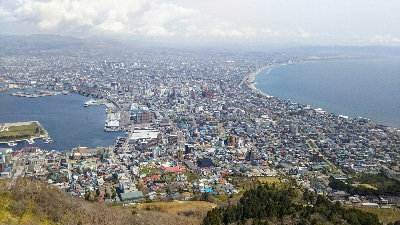 函館山からの眺望