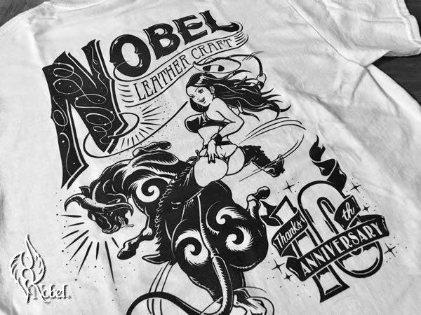 キャンペーンnobelオリジナルTシャツプレゼント