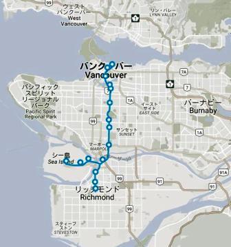 train map canada line
