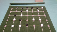 囲碁ボールのルールの再確認その1 岩滝地域囲碁ボール交流会