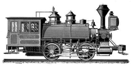 ディクソン製蒸気機関車