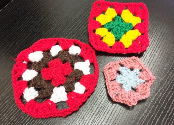 編み物男子 man who knit and crochet