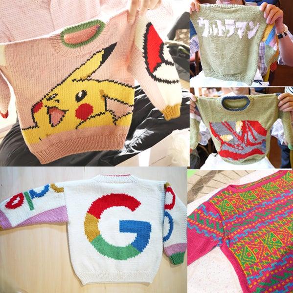スマイルニット倶楽部ニット男子部 man who knit the Knit Guys