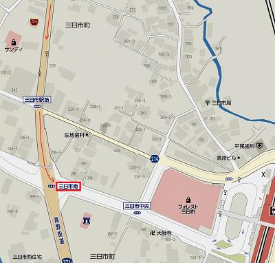 店舗案内地図・七つ辻-2