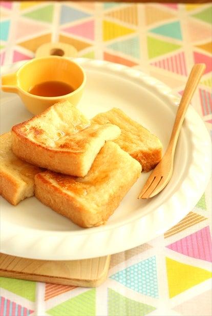卵不使用 ふわっふわココナッツミルクのフレンチトースト マクロビ