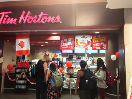 Tim Hortons 6 アイ・カナダ留学サポート